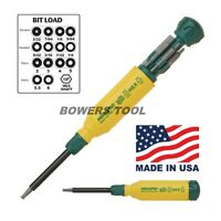 Megapro Hex 15 In 1 Multi Bit Screwdriver 2-6mm Metric 3/32-1/4 In Sae Usa