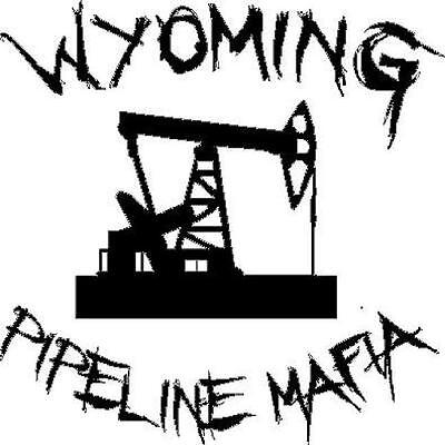 Louisiana Pipeline Mafia vinyl decal//sticker oil field state welder pump jack