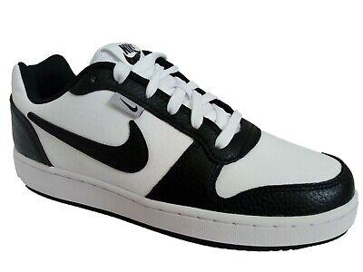 Scarpe da Ginnastica Uomo Nike Ebernon Low Prem in Pelle Bianco rosso tg 42   eBay