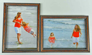 35x5 4x5 4x6 5x7 8x10 Wood Photo Picture Frame Two Double Frames