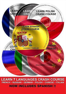 Impara A Parlare Tedesco Francese Italiano Polacco Cinese Russo Multi Collection-
