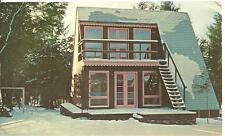 Postcard Elk Mountain Union Dale Pa Village of 4 Seasons Resort Uniondale house