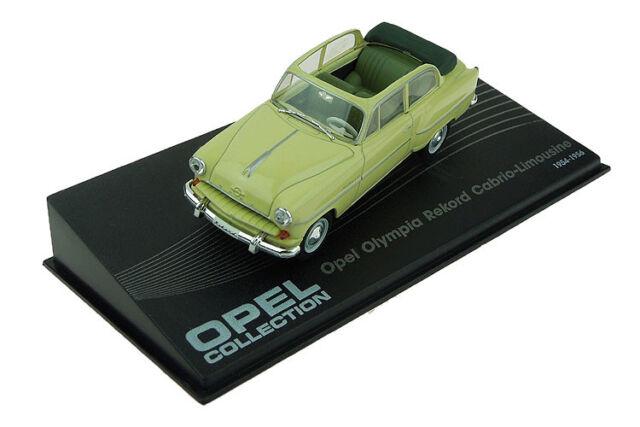 Opel Olympia Rekord Cabrio Limousine 1954/1956 (1:43)