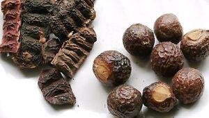 Whole Reetha Soap Nuts Aritha Sapindus Shikakai Acacia Concinna Hair