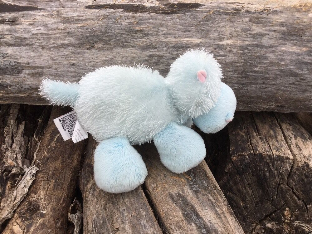 Plush Stuffed Animal Blau Hippo Hippo Hippo Webkinz Lil' Kinz HM009 GANZ No Code NoTag 8