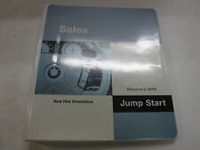 Welcome To BMW Jump Start Sales New Hire Orientation Binder EX 082416jhe