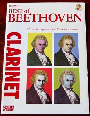 The Best Of Beethoven Trumpet Trumpet Sheet Music Instrumental Play-Along CD