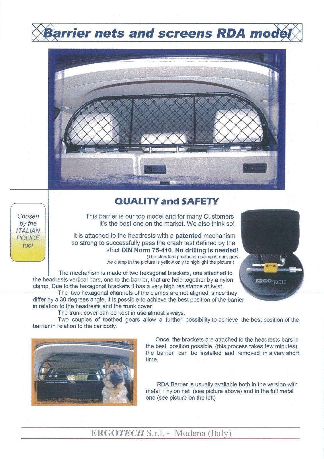 Dog Guard Pet Barrier Net and Screen for AUDI A3 Hatchback 5 Door ...