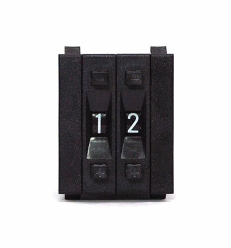 Cap PF31 0~9 Scale Setting H=33mm Hampolt 1set Pushwheel BCD Switch 2-Digit