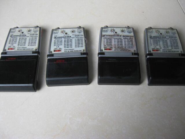 B250mW Sennheiser SK250507-542 MHzL-Band32 Frequencies in Bank A