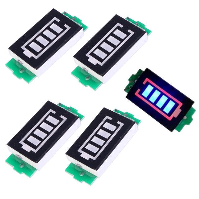 Single 3.7V Lithium Battery Capacity Indicator Module 4.2V Blue Display Tester