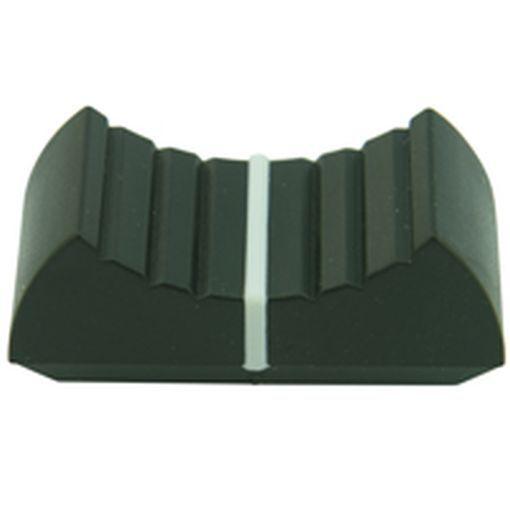 Slider Potentiometer Control Knob Black (Pack of 3)