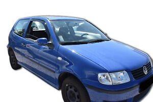 Details about VW POLO GTI 6N + 6N2 1994-2002 3 door FRONT WIND DEFLECTORS  TINTED HEKO