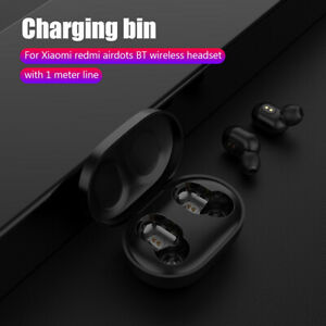 300mAh-Charging-Case-with-USB-Cable-for-Xiaomi-Redmi-AirDots-TWS-Earbuds