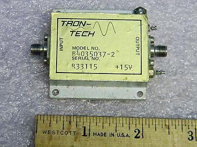 SMA Lo-Band RF Amplifier 10MHz-200MHz 40dB Gain Tron-Tech