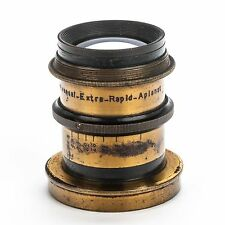 Universal  Extra Rapid Aplanat Brass Lens 200mm f/9