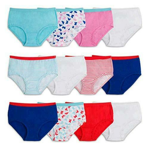 Fruit of the Loom Little Girls'  Brief , Assorted,, MultiColor, Size 10.0 ZGOP