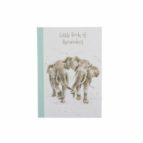 Notes //Reminders Wrendale Designs By Hannah Dale A6 Notebook Pad Elephants