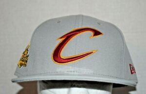 Cleveland Cavaliers New Era 9FIFTY SNAPBACK Adult GRAY NBA NWT Semi Flat Bill