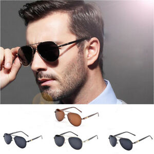 Men-Women-Vintage-Polarized-Sunglasses-Driving-Mirror-Lens-Glasses-UV400-Fashion