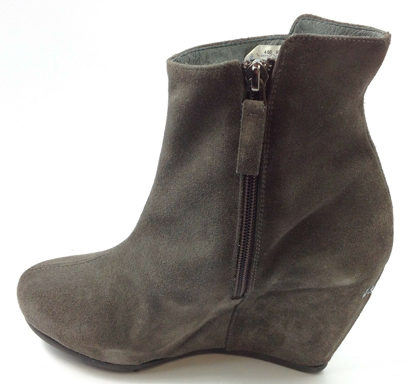 Costume National Suede Ankle Boots with wedges Eur 37-38 US 7 MSRP 385.00
