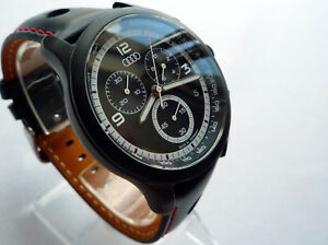Audi-Classic-Motorsport-Racing-RS-S-Line-Car-Accessory-Sport-Chronograph-Watch