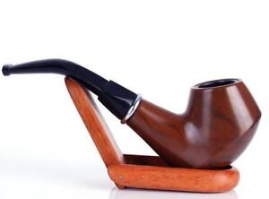 Collectible-Durable-Resin-Imitation-Solid-wood-Smoking-Tobacco-pipe-Smoke-Pipes