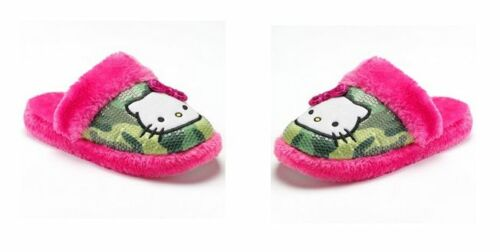 GIRLS Hello Kitty Plush Slippers MULTI COLORS /& SIZES NEW WITH TAG MSRP$28