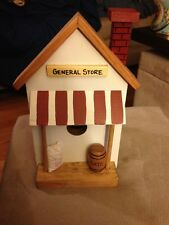 Hand Made & Painted Wooden Birdhouse, General Store, Made In Florida USA