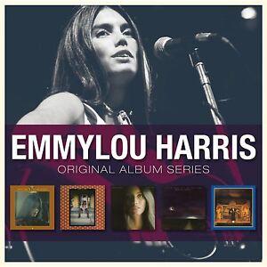Emmylou Harris ORIGINAL ALBUM SERIES Box Set ELITE HOTEL ...