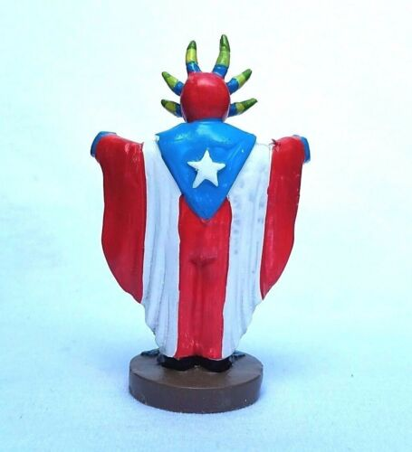 COLLECTABLE Puerto Rico Tradition Vejigante FIGURINE Souvenirs Boricua Rican #3