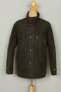 BARBOUR-Sapper-WAXED-Jacket-Olive-Large