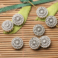 30pcs dark silver color 8.7mm wide round shaped gear design spacer bead  EF2830