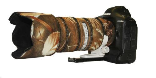 Canon 70 200mm F2.8 L IS Mk1 Camouflage Neopren-Objektiv-Schutzkappe Ernte