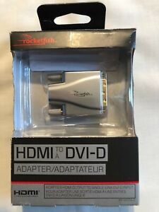 Rocketfish HDMI to DVI-D Adapter Legacy Monitor Projector Converter Single-Link