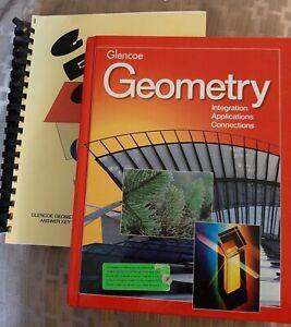 Math Textbook GLENCOE GEOMETRY + Answer Key - Grades 9-12 ...
