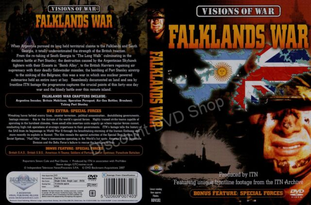 Visions Of War - Falklands War (DVD, 2007) New Item