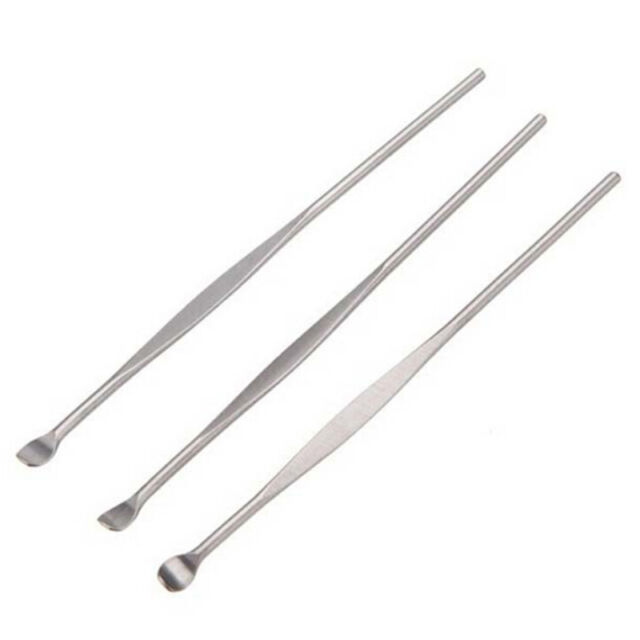 5pcs Stainless Steel Ear Pick Wax Curette Remover Cleaner Care Tool EarPick  bV