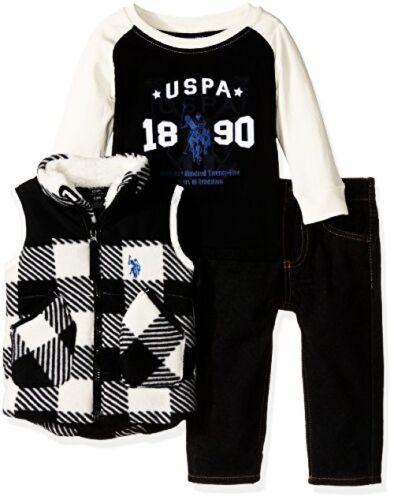 Baby Boys Polar Fleece and Childrens Apparel U.S US Polo Assn Pick SZ//Color.