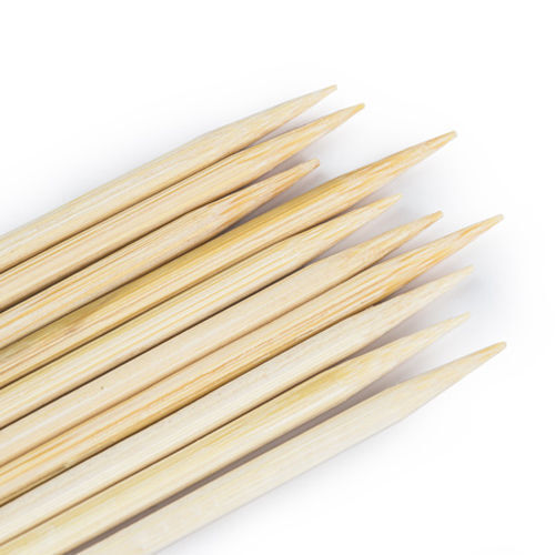 "100pcs 12/"" Bamboo Skewers Wood Sticks BBQ Tools Shish Kabob Fondue Grill Cook"