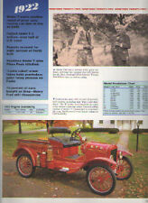 1922 Ford Model T + TT Article - Fire Chief Runabout Truck - Must See !!