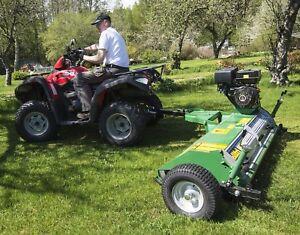 Details about Kellfri 1 2mtr Quad ATV flail Mower With 15hp Engine £1350+VAT