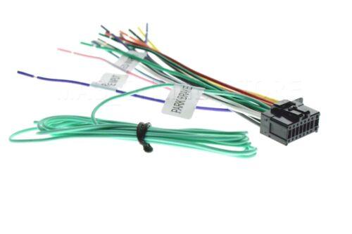 16PIN WIRE HARNESS FOR PIONEER AVH271BT AVH280BT AVH290BT AVH291BT MVHAV290BT