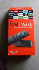 Fire TV Stick with Alexa Voice Romote black. For great entertainment