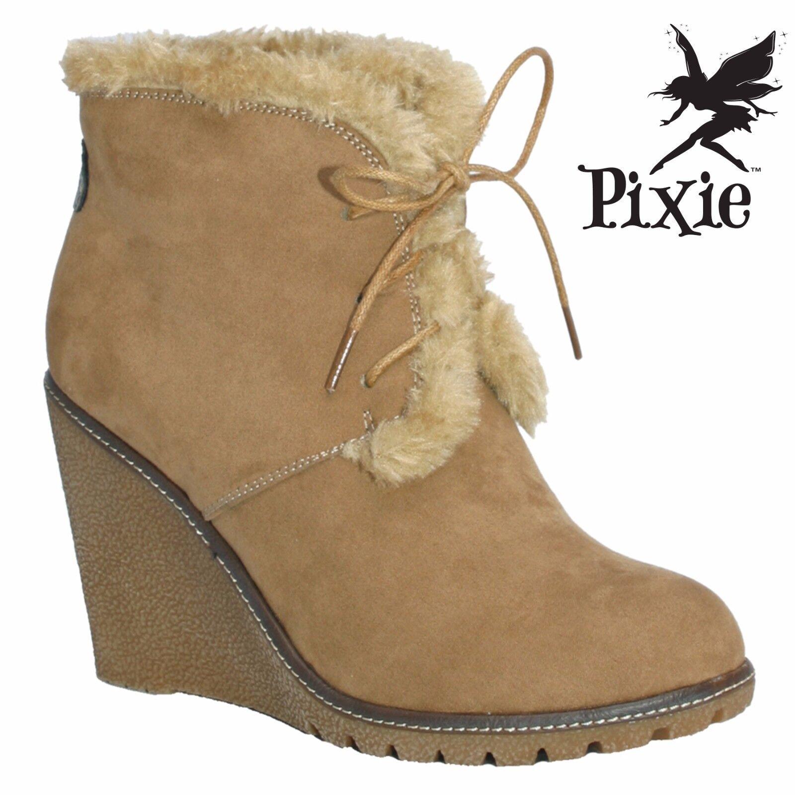 Pixie calzature Emily Donna Stivali. nella casella Nuovo di Zecca Zecca Zecca   Exquisite (medio) lavorazione  5cd522