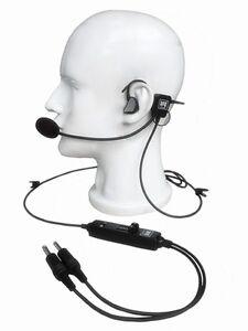 NEW-UFQ-in-ear-type-aviation-headset-UFQ-L-1-Super-Light-Weight-Quiet-as-ANR