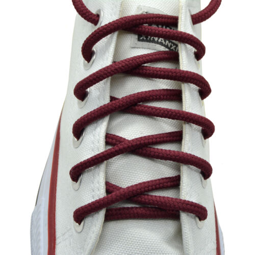 """String Shoelace 2 Pairs Round Athletic Sport Sneaker /""""Burgundy/"""" 27/"""",36/"""",45/"""",54/"""""""