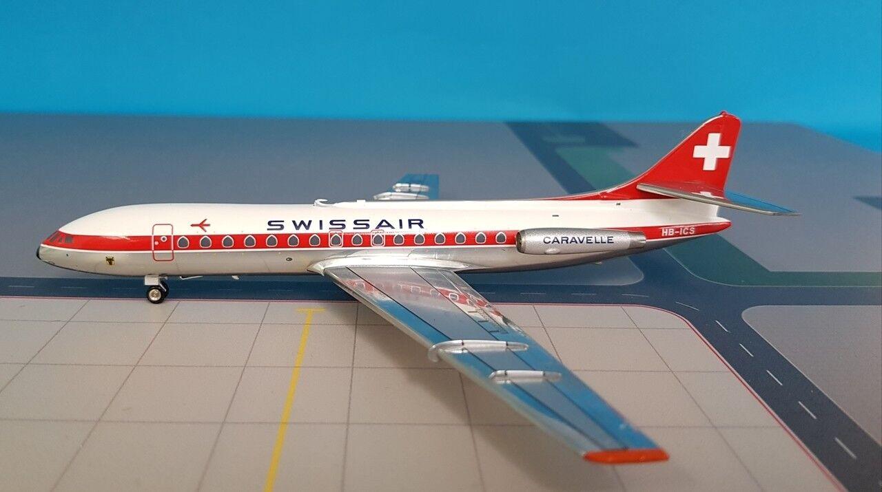 Swissair Caravelle Sud SE210 (HB-ICS)  Uri , 1 200