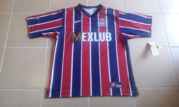 san francisco 6c520 3b20f Jersey club guadalajara chivas nike retro 1997 visita manga ...