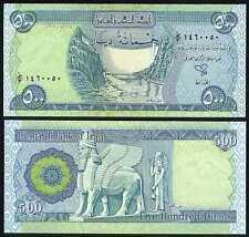 New Crisp Iraqi Dinar UNC 100 x 500 IQD Banknotes in a lot/bundle/pack!!